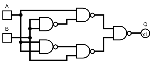 NAND Logic Diagram