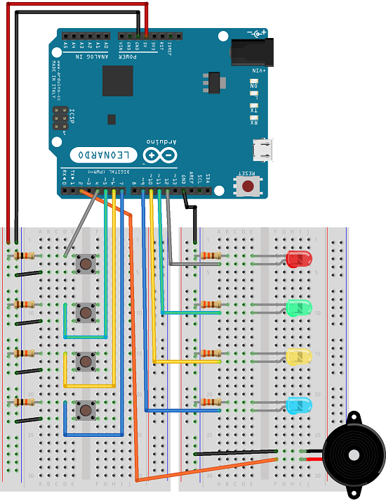 Arduino Circuit Diagram