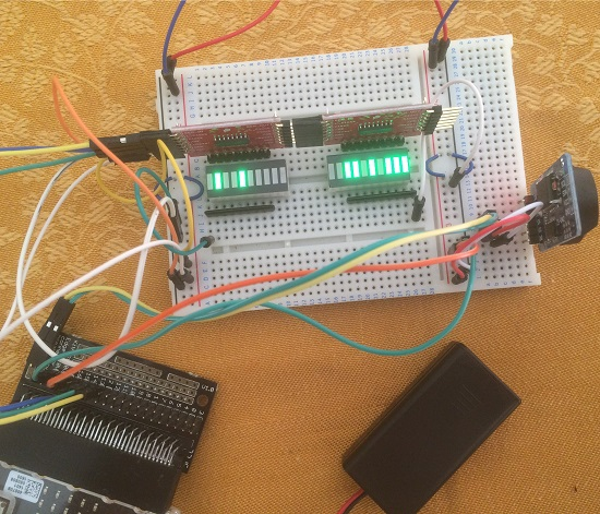 Binary Clock Circuit