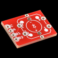Breakout board for the LED tactile button