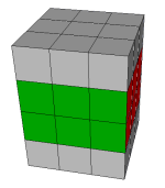 fully functional 3x3x4 image